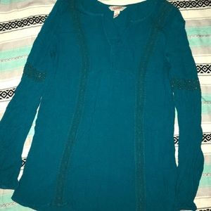 Teal Blouse